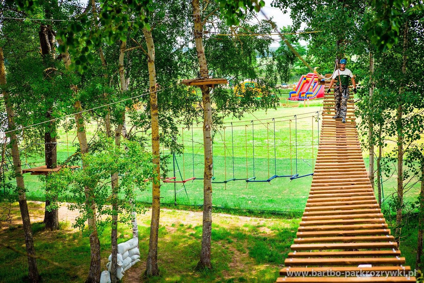O parku linowym
